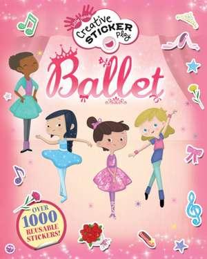 Little Hands Creative Sticker Play: Ballet