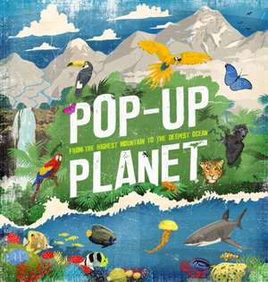Pop-Up Planet de Camilla de La Bedoyere
