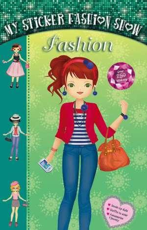 Fashion: Carte cu abțibilduri Modă de Anna Ziliz