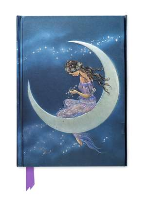 Jean & Ron Henry: Moon Maiden (Foiled Journal) de Flame Tree Studio