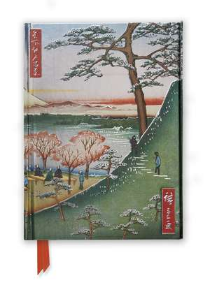 Hiroshige: Meguro (Foiled Journal) de Flame Tree Studio