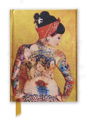 Justice Howard: Tattoo Art (Foiled Journal) de Flame Tree Studio