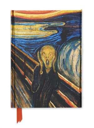 Edvard Munch: The Scream (Foiled Journal) de Flame Tree Studio