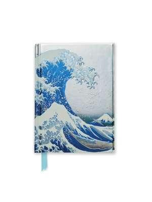 Hokusai: The Great Wave (Foiled Pocket Journal) de Flame Tree Studio