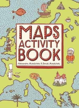 Maps Activity Book imagine