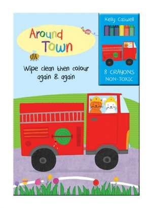 Colour Me Again and Again Book - Around Town