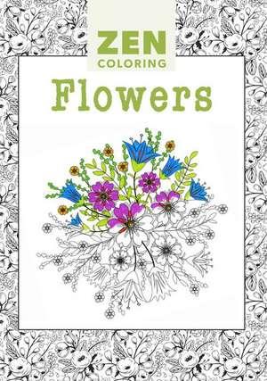 Flowers: Zen Coloring de GMC