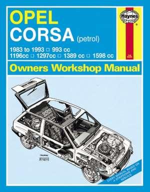 Opel Corsa Service and Repair Manual de  Haynes Publishing