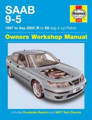 Saab 9-5 Petrol (97 - 05) Haynes Repair Manual de  Haynes Publishing