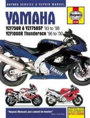 Yamaha YZF750R Motorcycle Repair Manual de  Haynes Publishing