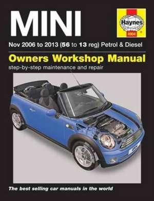 Mini Petrol & Diesel Owners Workshop Manual de  Haynes Publishing