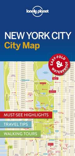 Lonely Planet New York City Map de Lonely Planet
