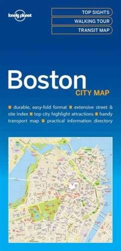 Lonely Planet Bostoncity Map de Lonely Planet