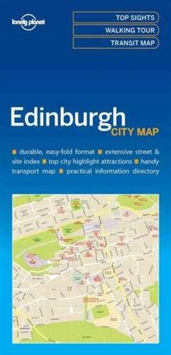 Lonely Planet Edinburghcity Map de Lonely Planet