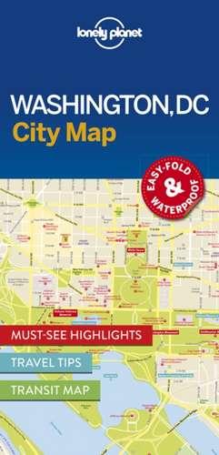 Lonely Planet Washington DC City Map de Lonely Planet