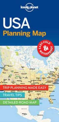 Lonely Planet USA Planning Map de Lonely Planet