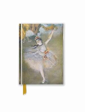 Degas: The Star (Foiled Pocket Journal) de Flame Tree Studio