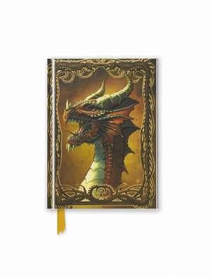 Beyit: Red Dragon (Foiled Pocket Journal) de Flame Tree Studio