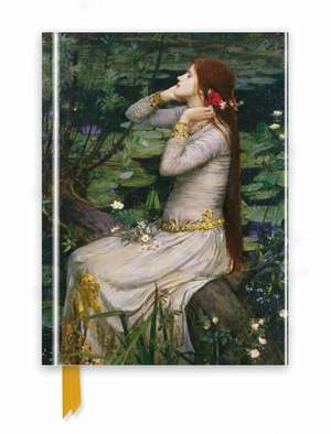 Waterhouse: Ophelia (Foiled Journal) de Flame Tree Studio