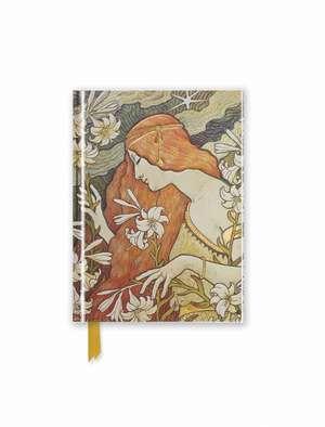 Paul Berthon: L'Ermitage (Foiled Pocket Journal) de Flame Tree Studio