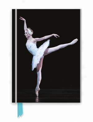Ballet Dancer (Foiled Journal) de Flame Tree Studio