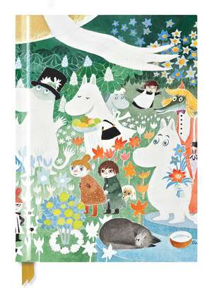 Moomin: Dangerous Journey (Blank Sketch Book) de Flame Tree Studio