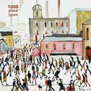 Adult Jigsaw Puzzle L.S. Lowry: Going to Work: 1000-piece Jigsaw Puzzles de Flame Tree Studio