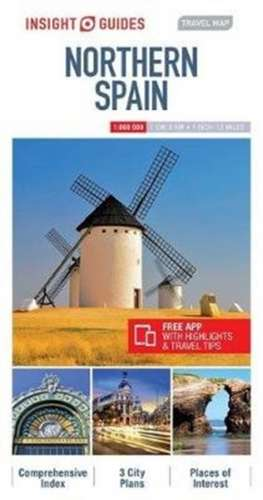 Insight Travel Map Northern Spain de Insight Guides