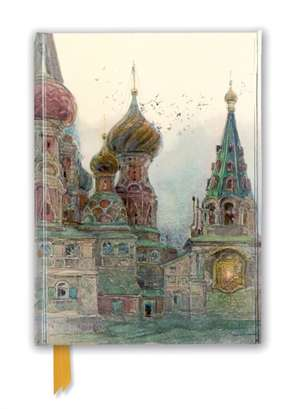 George Kossiakoff: St Vasily, Moscow (Foiled Journal) de Flame Tree Studio