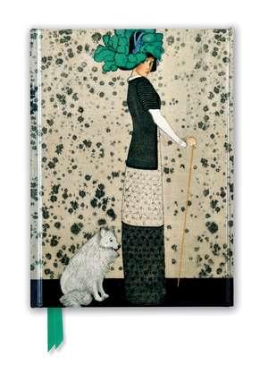 Koloman Moser: Art Nouveau Fashion (Foiled Journal) de Flame Tree Studio