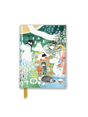 Moomin: Dangerous Journey (Foiled Pocket Journal) de Flame Tree Studio