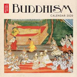 British Library – Buddhism Wall Calendar 2020 (Art Calendar) de Flame Tree Studio