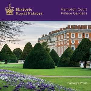 Historic Royal Palaces Hampton Court Palace Gardens Wall Calendar 2020 (Art Calendar) de Flame Tree Studio