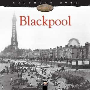 Blackpool Heritage Wall Calendar 2020 (Art Calendar) de Flame Tree Studio