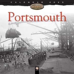 Portsmouth Heritage Wall Calendar 2020 (Art Calendar) de Flame Tree Studio