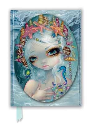 Jasmine Becket-Griffith: Seashell Princess (Foiled Journal) de Flame Tree Studio