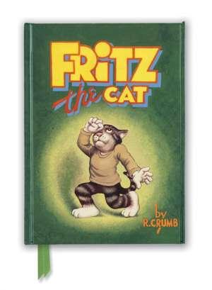 R. Crumb: Fritz the Cat (Foiled Journal) de Flame Tree Studio