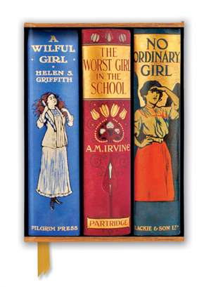 Bodleian Libraries: Book Spines Great Girls (Foiled Journal) de Flame Tree Studio