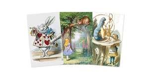Alice in Wonderland Mini Notebook Collection de Flame Tree Studio