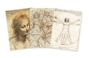 Leonardo da Vinci Mini Notebook Collection de Flame Tree Studio