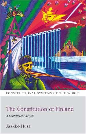 The Constitution of Finland: A Contextual Analysis de Jaakko Husa