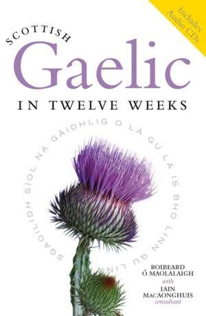 Scottish Gaelic in Twelve Weeks [With 3 CDs]