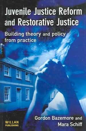 Juvenile Justice Reform and Restorative Justice imagine
