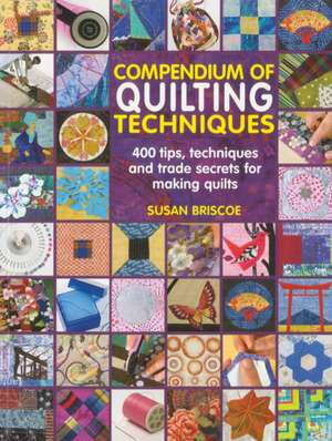 Compendium of Quilting Techniques de Susan Briscoe