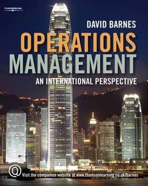 Operations Management de David Barnes