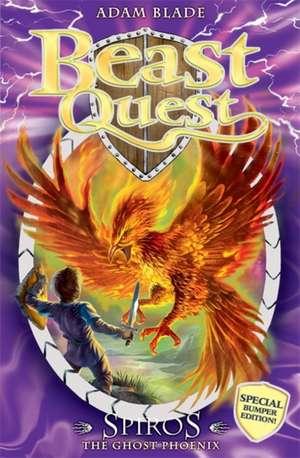 Spiros the Ghost Phoenix de Adam Blade