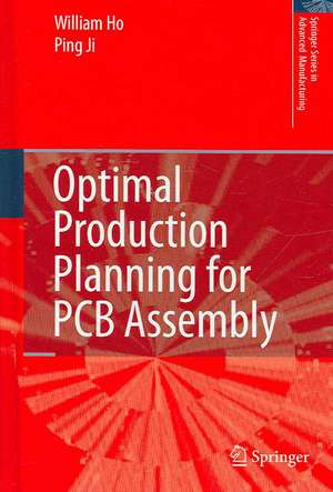 Optimal Production Planning for PCB Assembly de William Ho