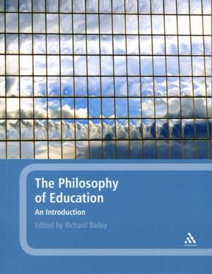 The Philosophy of Education: An Introduction imagine