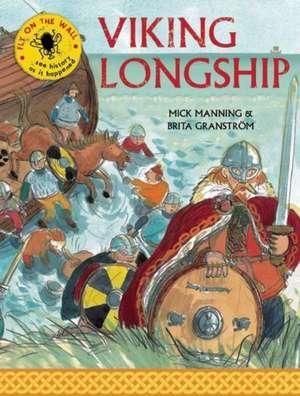 Viking Longship de Mick Manning