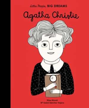 Little People, Big Dreams: Agatha Christie de Isabel Sanchez Vegara
